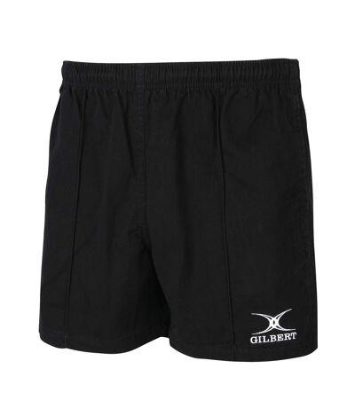 Gilbert Rugby Mens Kiwi Pro Rugby Shorts (Black) - UTRW5399