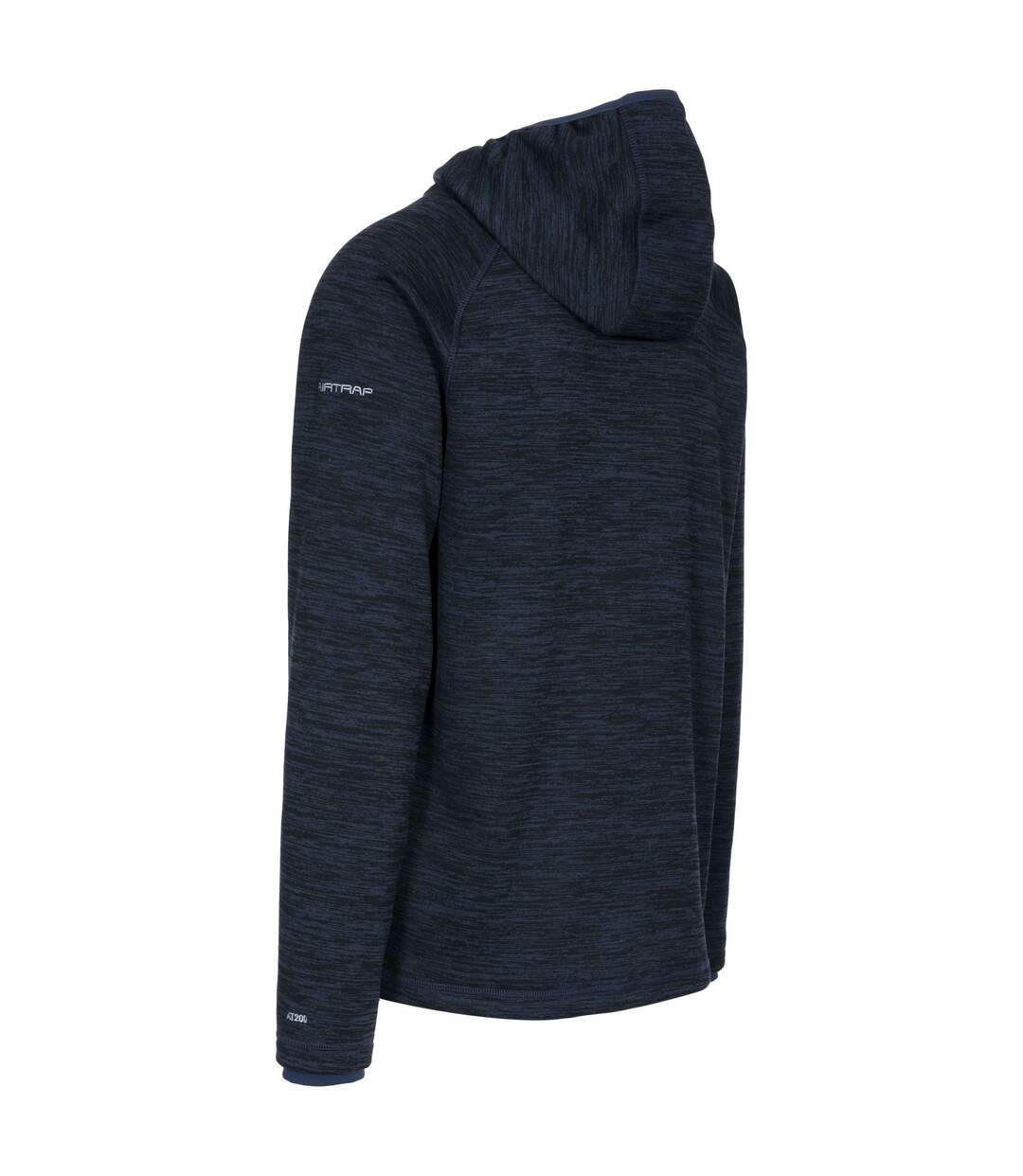 Trespass Mens Northwood Full Zip Fleece Hoodie (Navy Marl) - UTTP3219