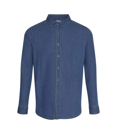 AWDis So Denim Mens Jack Denim Shirt (Dark Blue) - UTRW6177