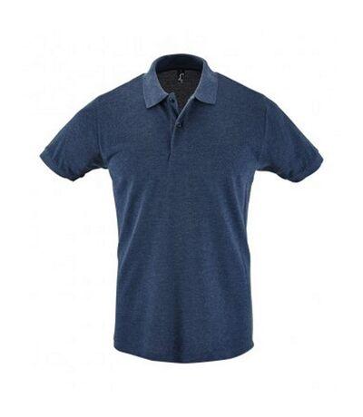 SOLS Mens Perfect Pique Short Sleeve Polo Shirt (White) - UTPC283