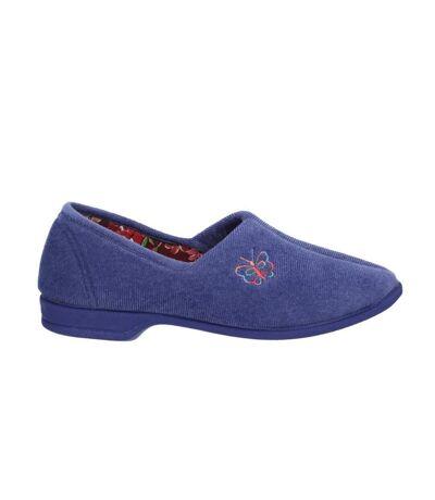 Mirak Bouquet / Ladies Slipper / Classic Womens Slippers (Black) - UTFS1170