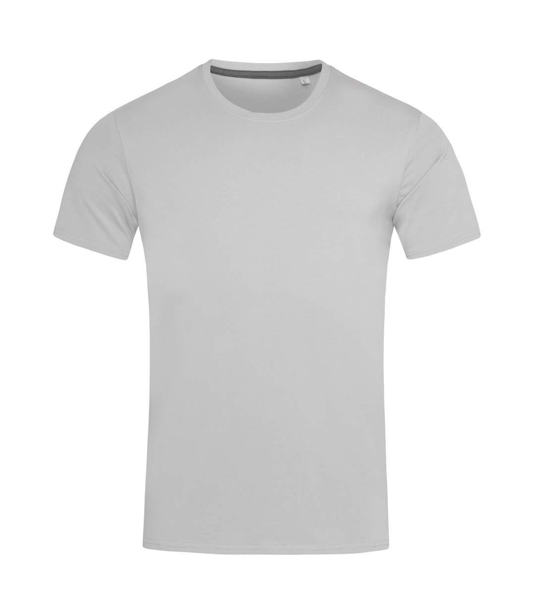 Stedman Stars Mens Clive Crew Neck Tee (Soft Grey) - UTAB384