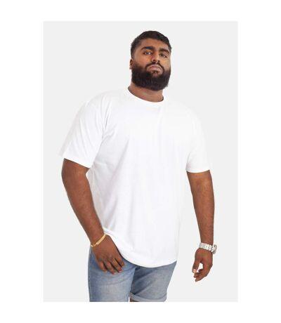 Duke D555 Kingsize Flyers - T-shirt col ras-du-cou - Homme (Blanc) - UTDC143