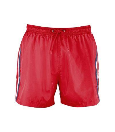 SOLS - Short de bain SUNRISE - Homme (Rouge) - UTPC3643