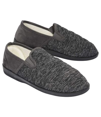 Prešívané papuče podšité flísom
