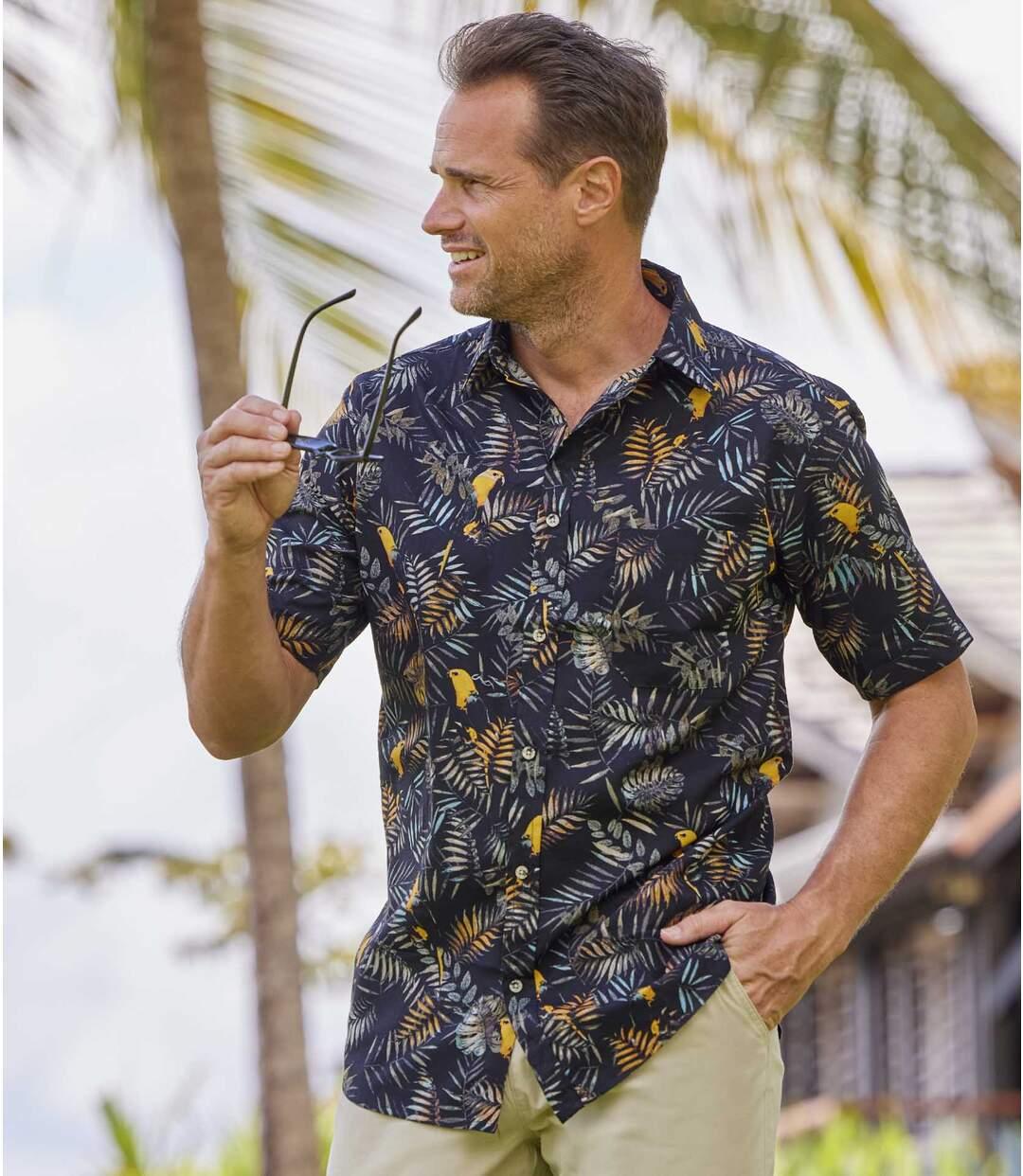 Hawaii-Hemd Parrot