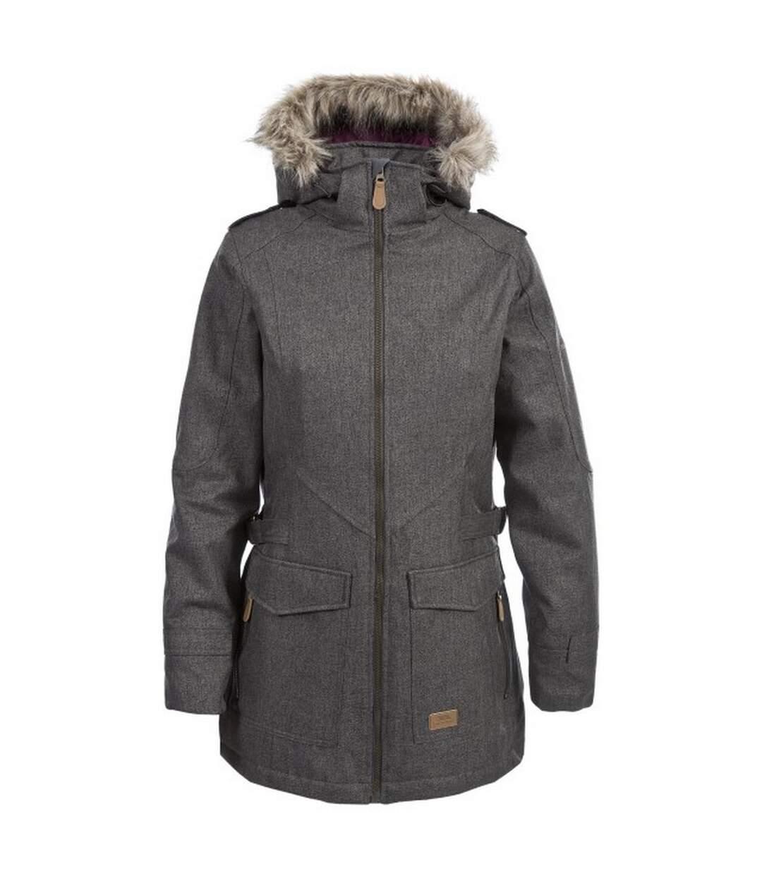 Trespass Womens/Ladies Everyday Waterproof Jacket (Khaki) - UTTP4437