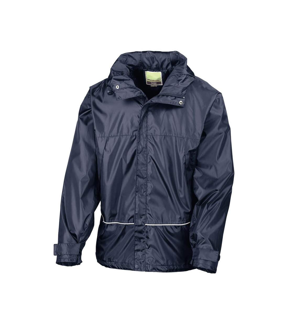 Result Mens Waterproof Windproof 2000 Coach Jacket (Navy Blue) - UTBC880