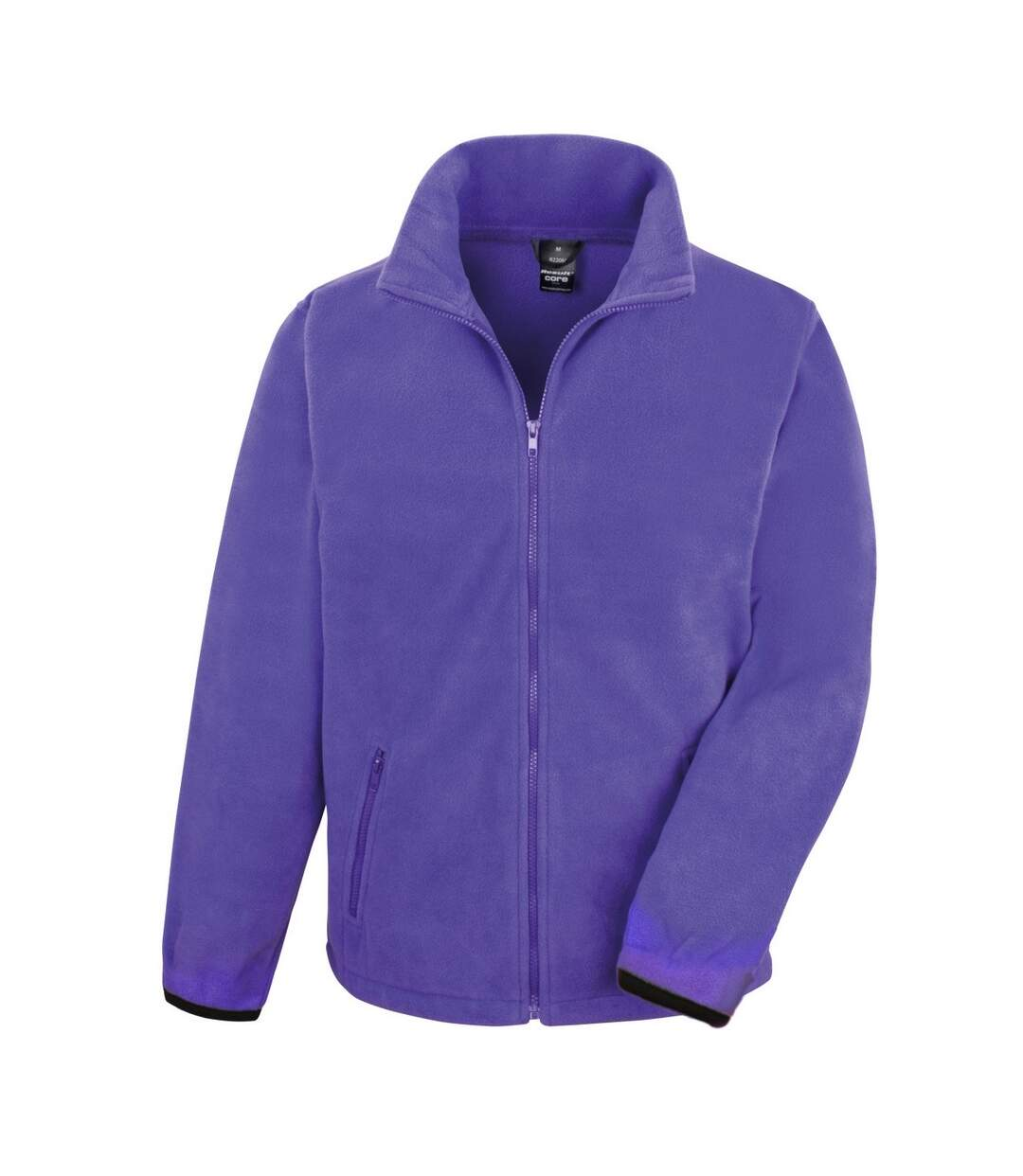 Result Mens Core Fashion Fit Outdoor Fleece Jacket (Purple) - UTBC912