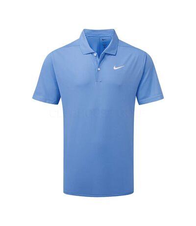 Nike Polo Victory solide pour hommes (Bleu) - UTBC4796