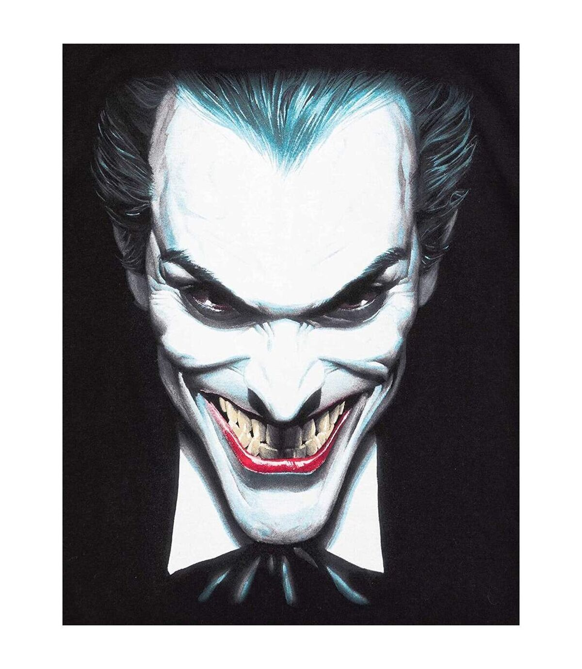 The Joker Mens Face T-Shirt (Black) - UTNS5765