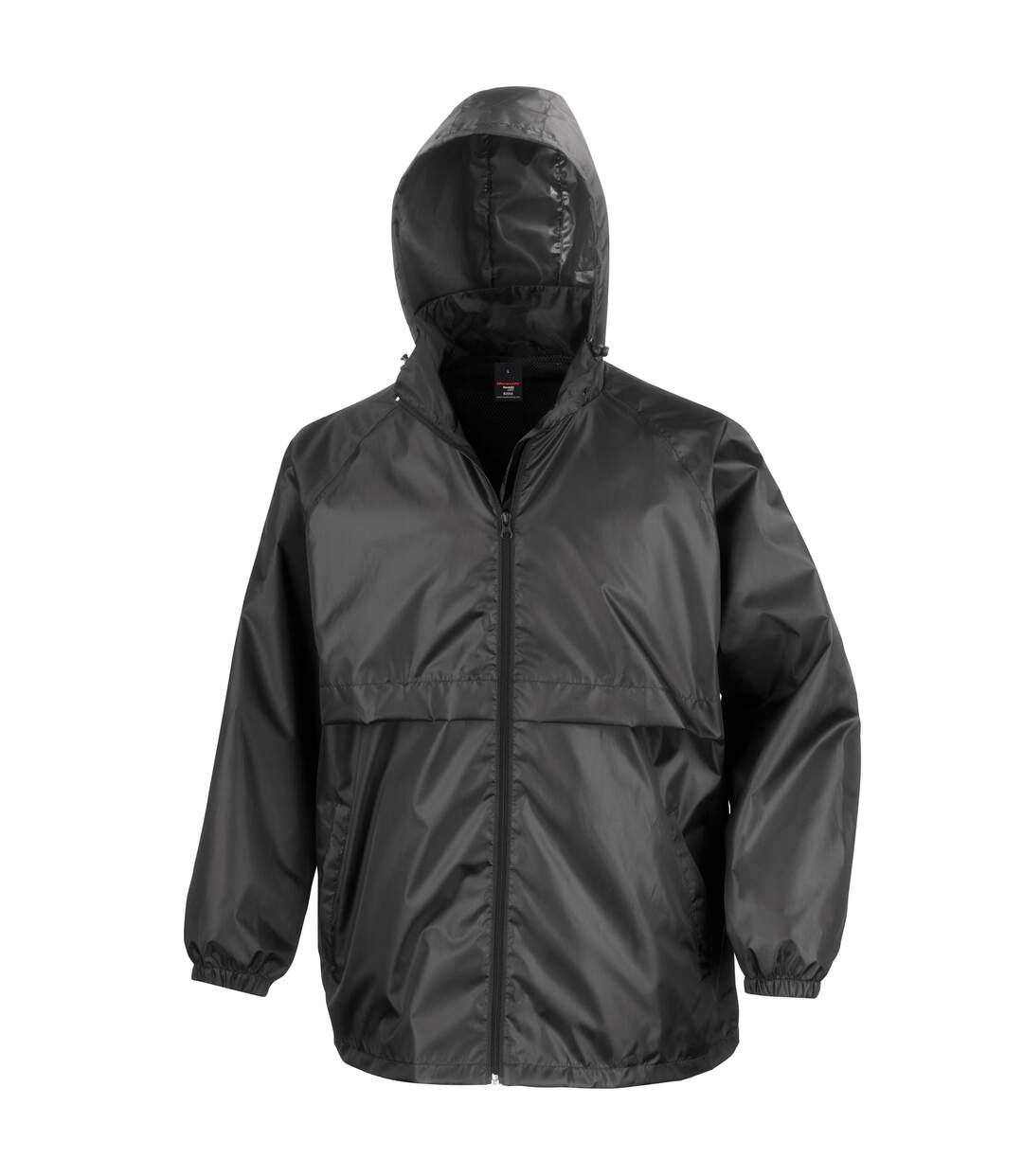 Result Mens Core Lightweight Waterproof Shield Windproof Jacket (Black) - UTBC898