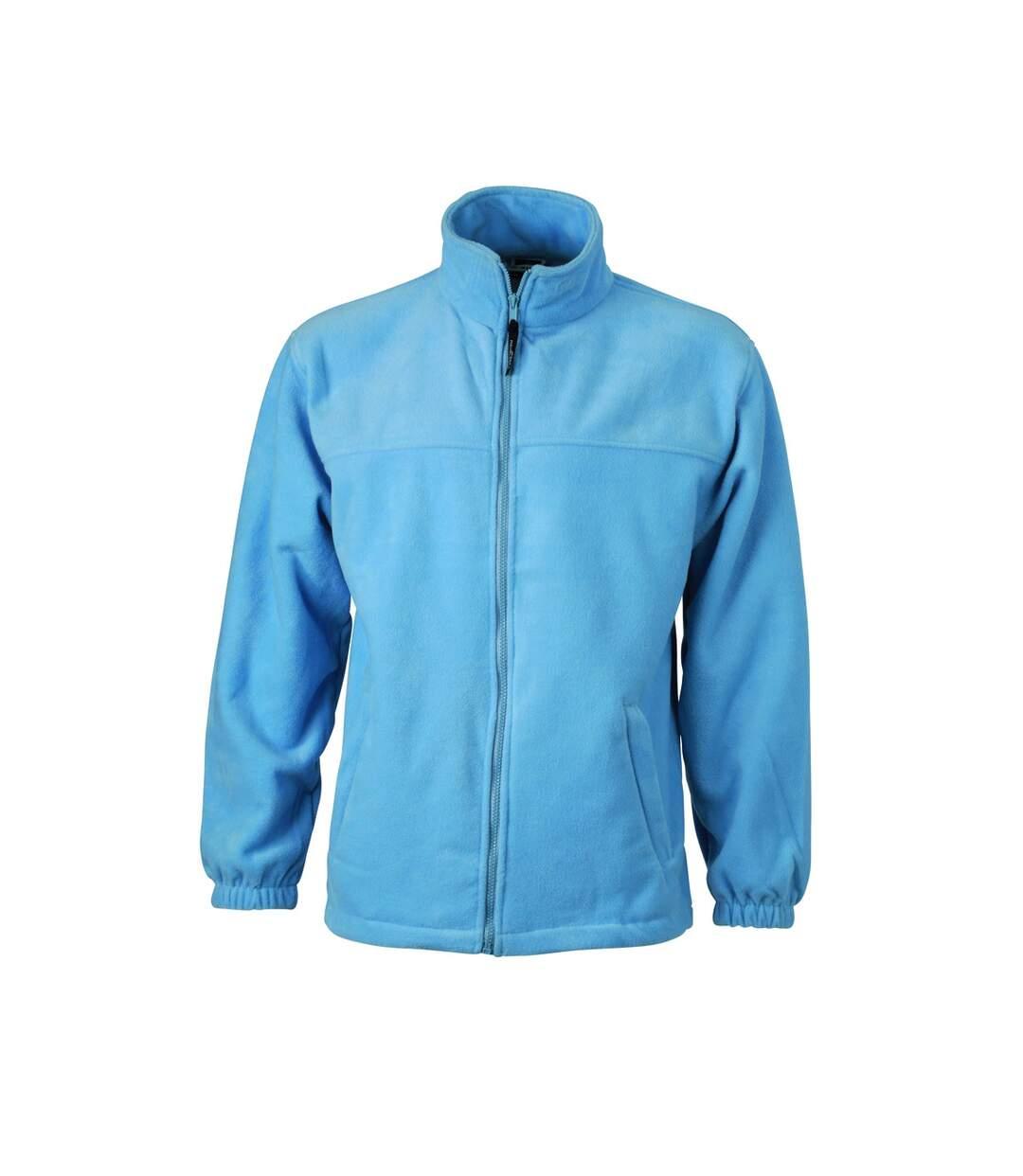 Veste polaire zippée homme - JN044 - bleu clair