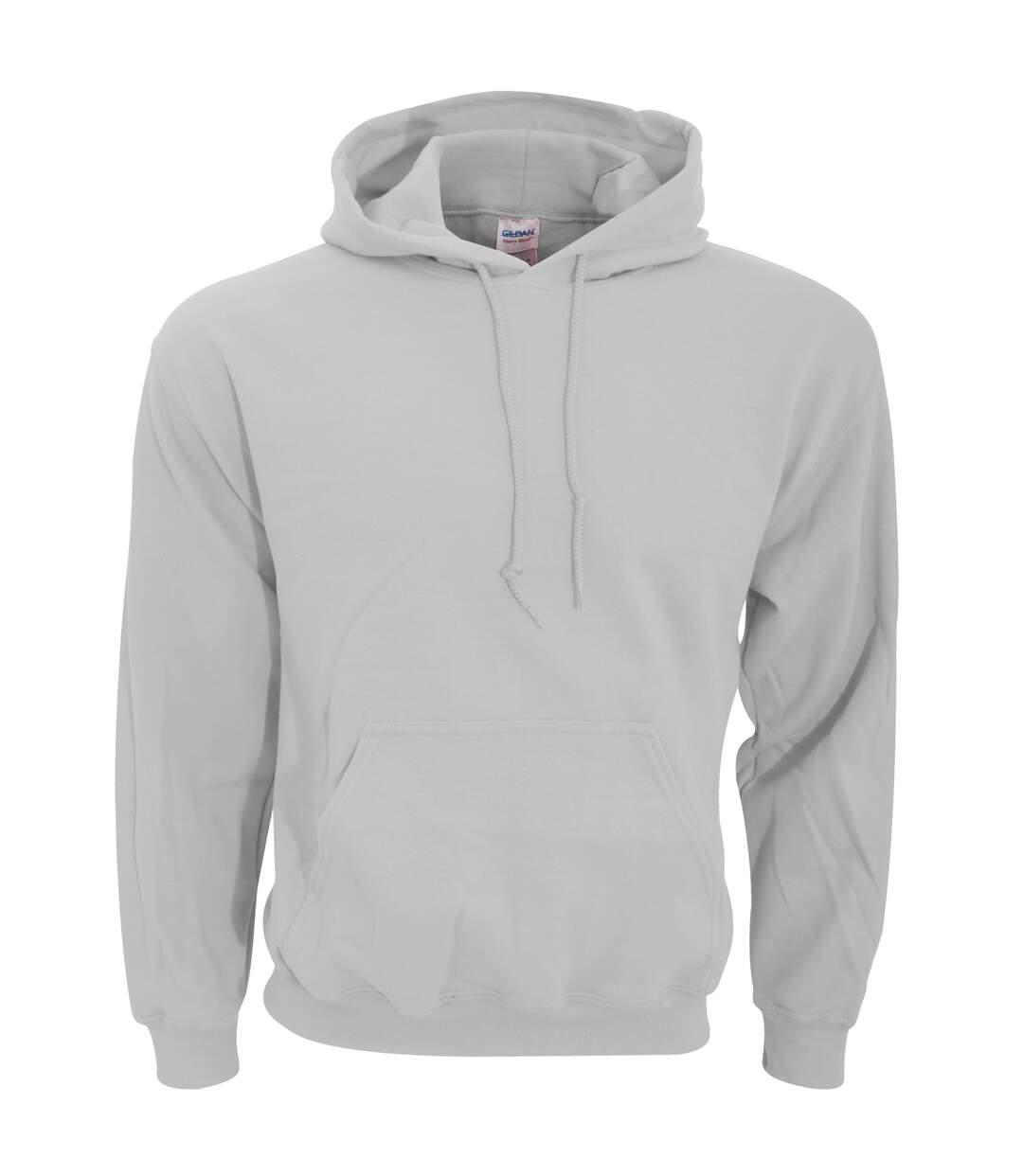Gildan Heavy Blend Adult Unisex Hooded Sweatshirt / Hoodie (Sport Grey) - UTBC468