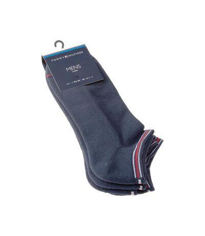 Chaussette Mini-chaussettes - Lot de 2 - Semelle bouclette - Coton - Bleu marine - Iconic sports sneaker