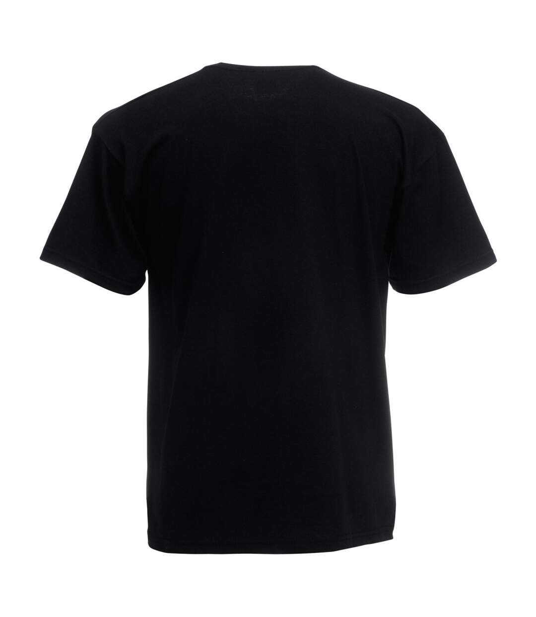 Mens Short Sleeve Casual T-Shirt (Jet Black) - UTBC3904