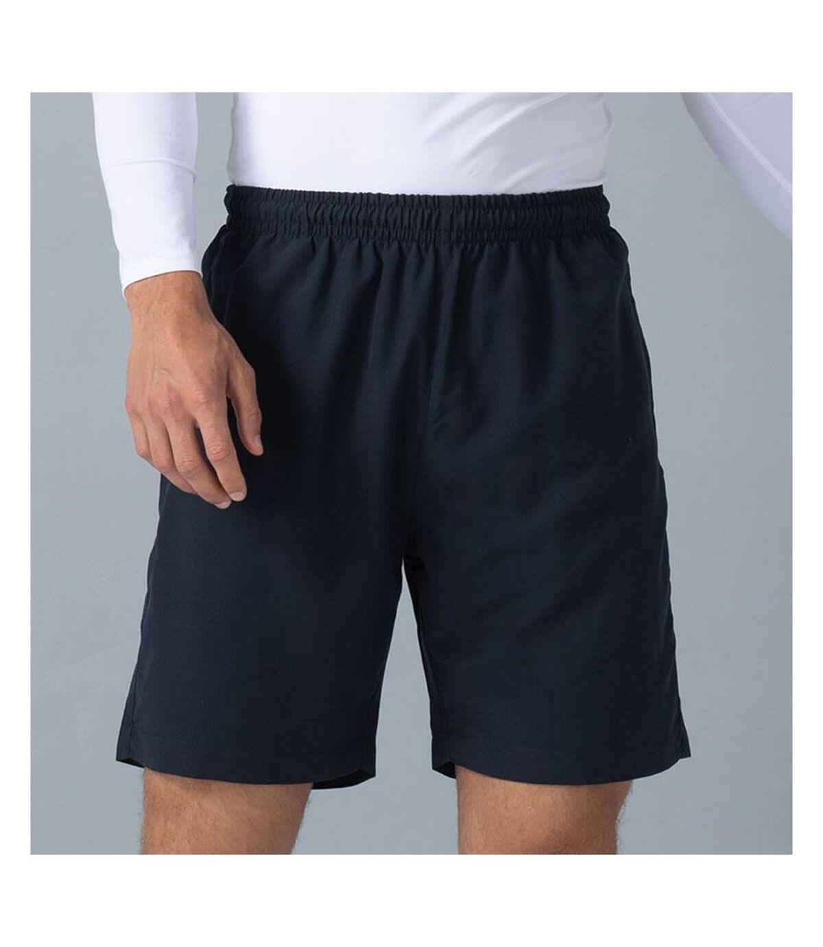 Finden & Hales Mens Microfibre Sports Short (Navy) - UTRW449