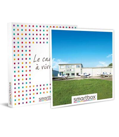 SMARTBOX - Vol d'initiation en ULM de 30 min et champagne à Saint-Cyr-l'École - Coffret Cadeau Sport & Aventure