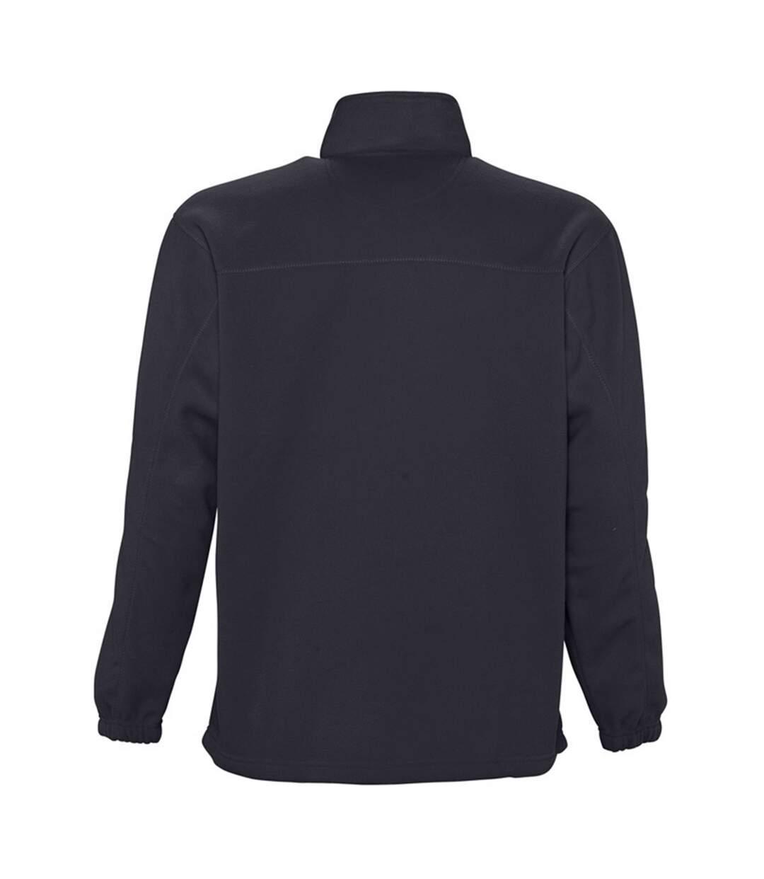SOLS Ness Unisex Zip Neck Anti-Pill Fleece Top (Charcoal) - UTPC345