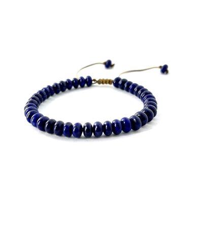 Bracelet harmonisation en lapiz lazuli