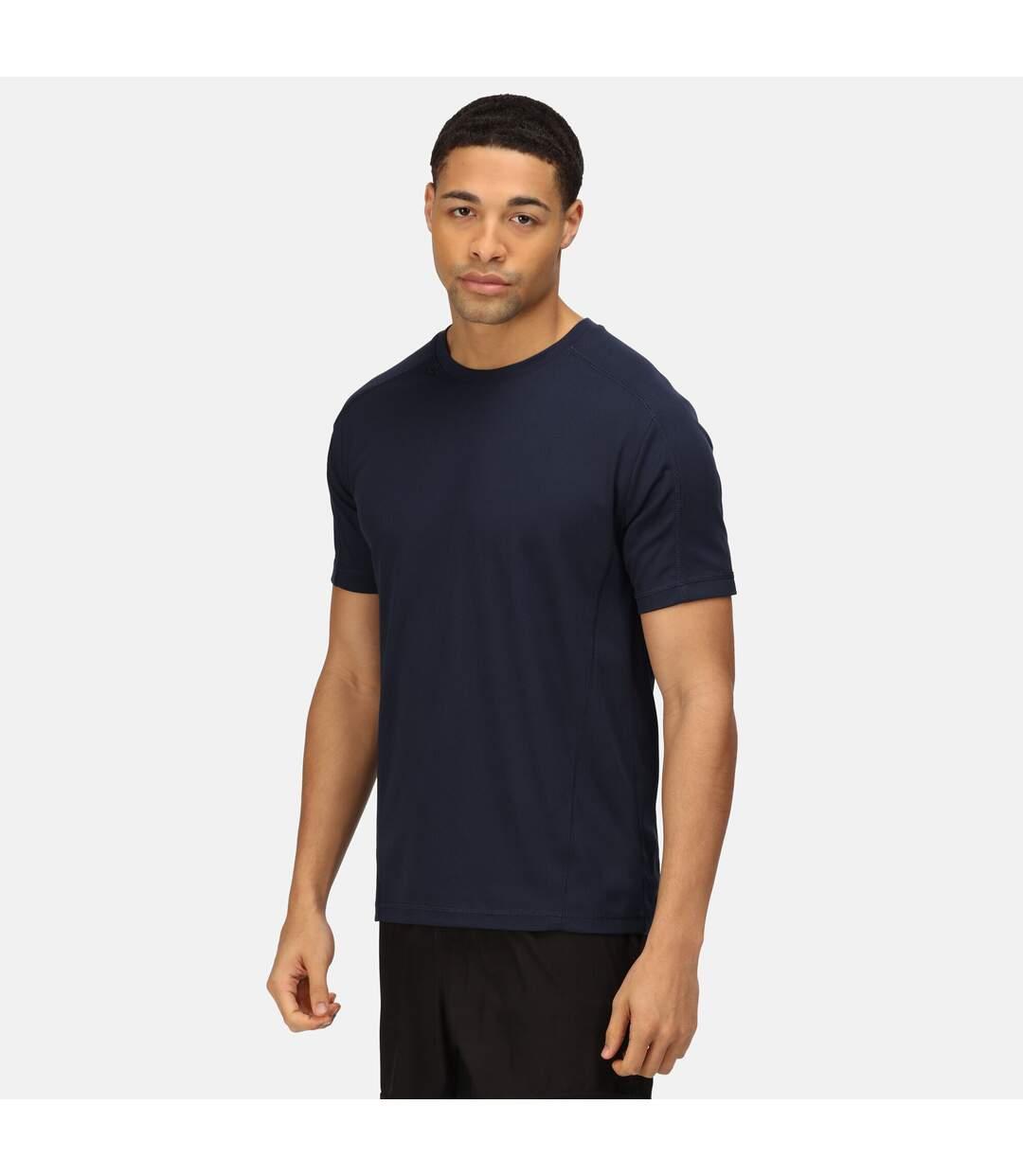Regatta Activewear Mens Beijing Short Sleeve T-Shirt (Navy/Navy) - UTRG2489