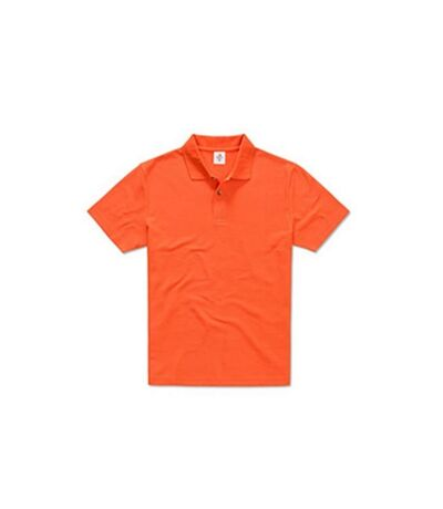 Polo en coton pour hommes Stedman (Orange brillante) - UTAB282