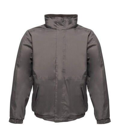 Regatta Dover Waterproof Windproof Jacket (Thermo-Guard Insulation) (Seal Grey/Black) - UTRG1425