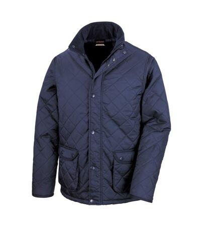 Result Mens Urban Cheltenham Water Repellent Jacket (Navy Blue) - UTBC892