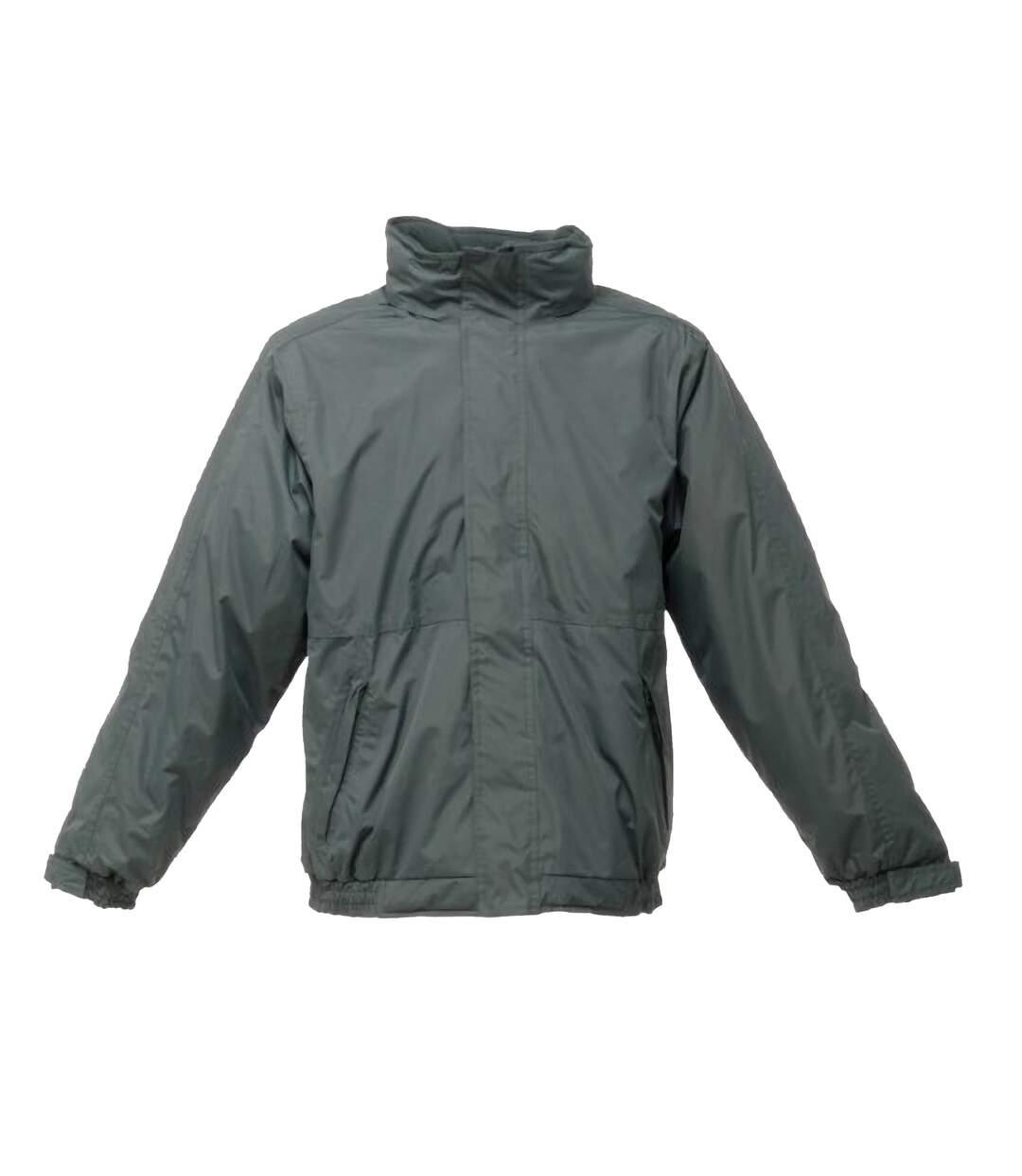 Regatta Dover Waterproof Windproof Jacket (Thermo-Guard Insulation) (Dark Green/Dark Green) - UTRG1425