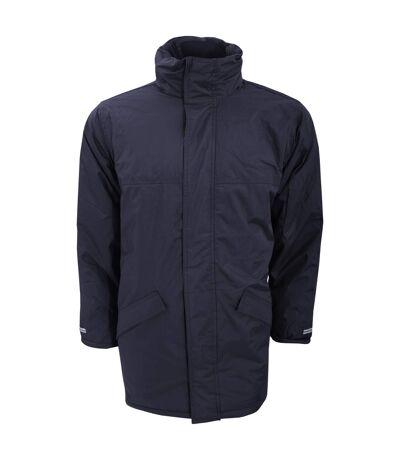 Result Mens Core Winter Parka Waterproof Windproof Jacket (Navy Blue) - UTBC901