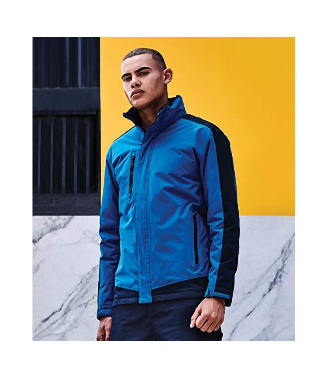 Regatta Mens Contrast Insulated Jacket (Navy/New Royal) - UTPC3315