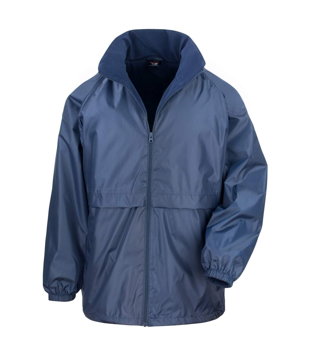Result Mens Core Adult DWL Jacket (With Fold Away Hood) (Royal) - UTBC896