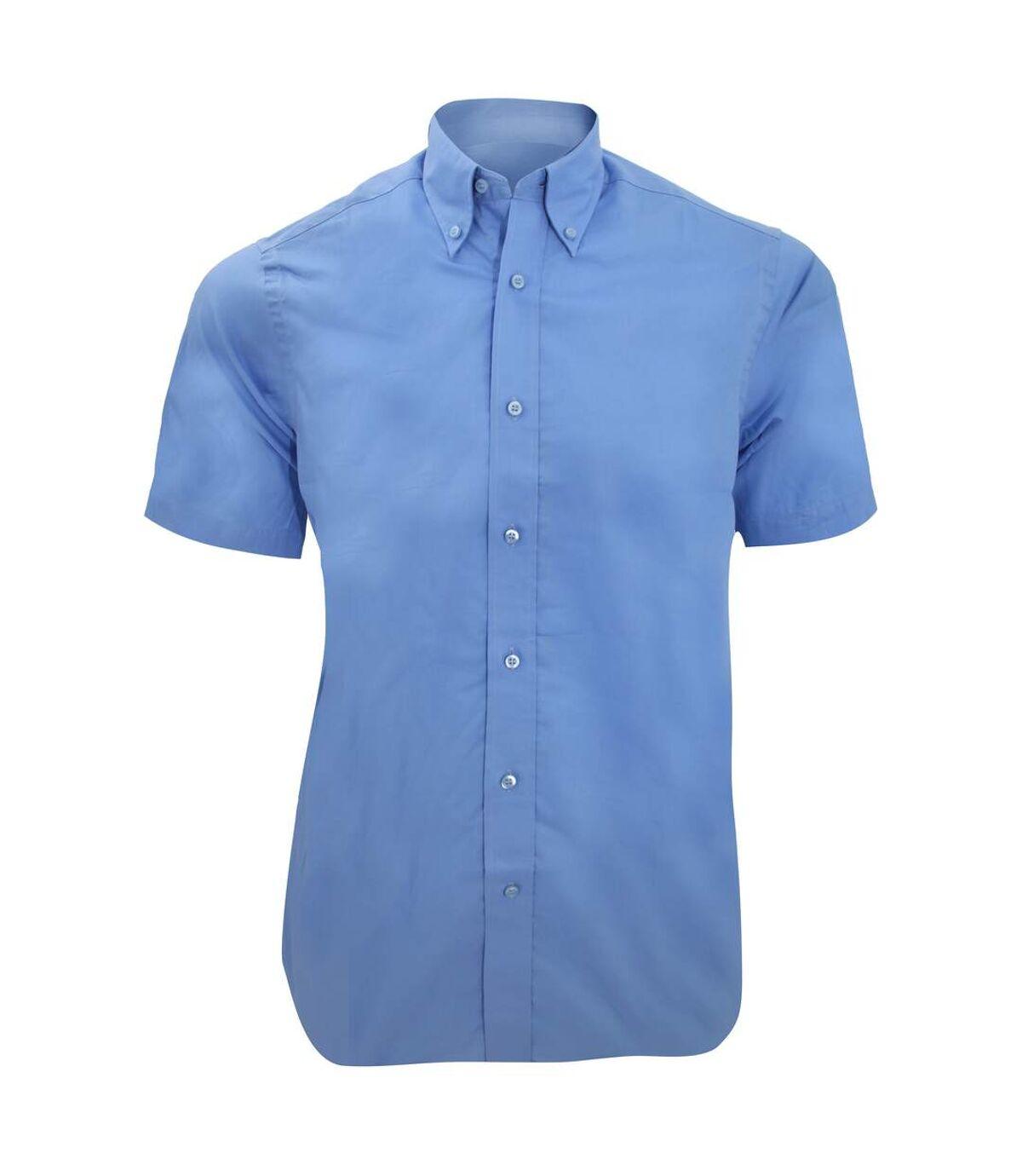 Kustom Kit Mens City Short Sleeve Business Shirt (Light Blue) - UTBC1448