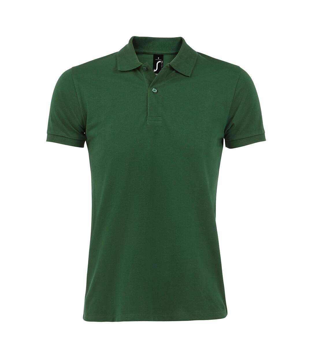 SOLS Mens Perfect Pique Short Sleeve Polo Shirt (Bottle Green) - UTPC283