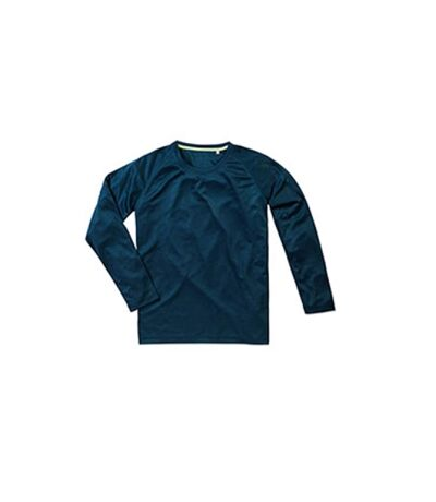 Stedman Mens Active 140 Long Sleeved Tee (Marina Blue) - UTAB344
