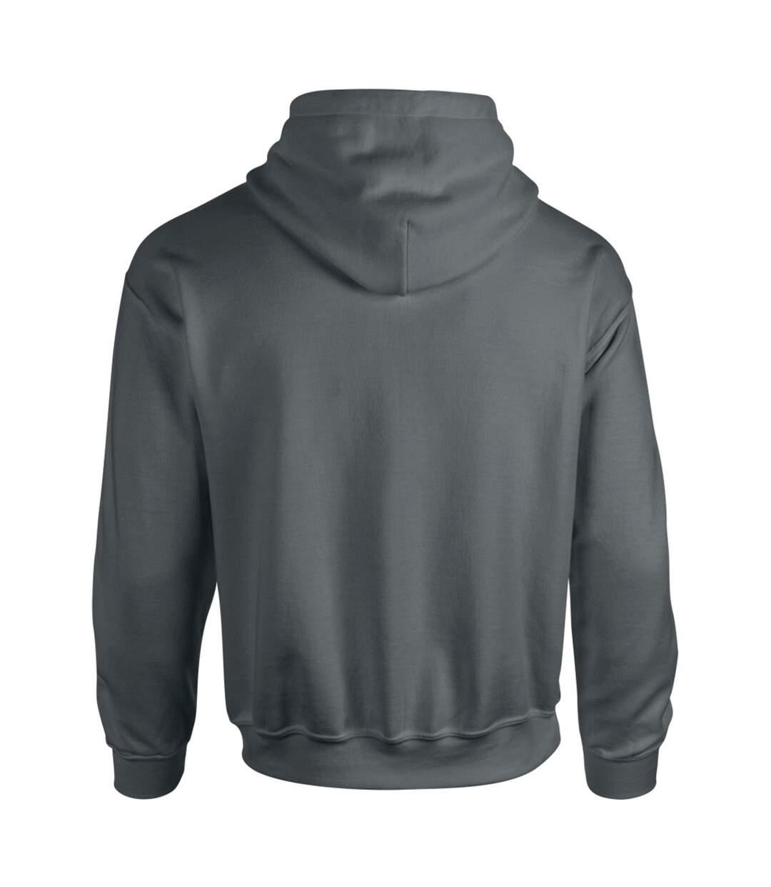 Gildan Heavy Blend Adult Unisex Hooded Sweatshirt / Hoodie (Heather Sport Dark Navy) - UTBC468
