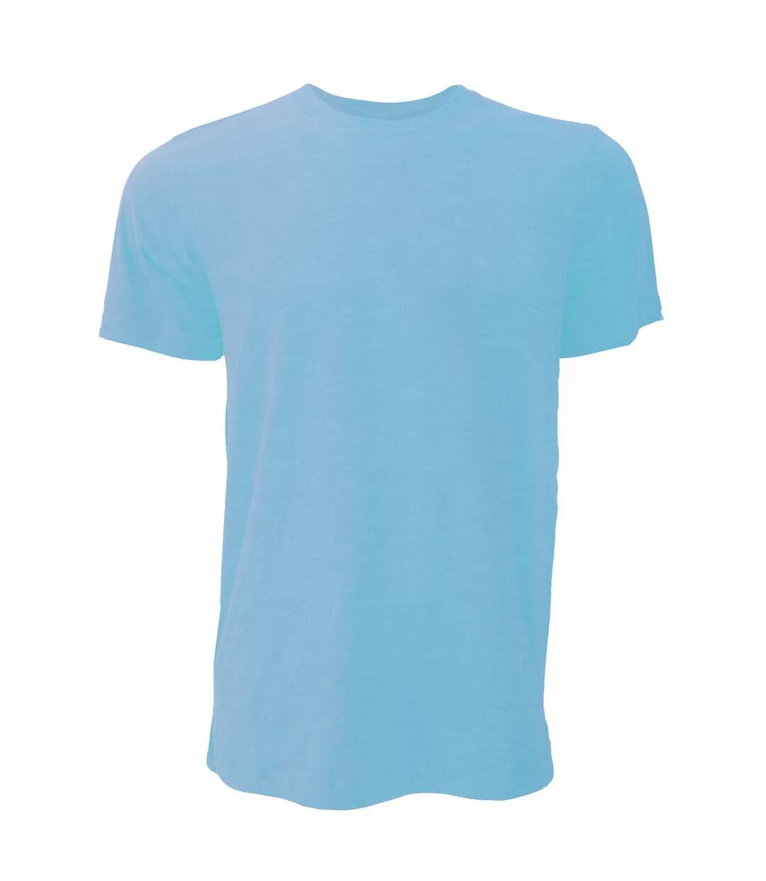 Canvas Unisex Jersey Crew Neck T-Shirt / Mens Short Sleeve T-Shirt (Heather Mint) - UTBC163