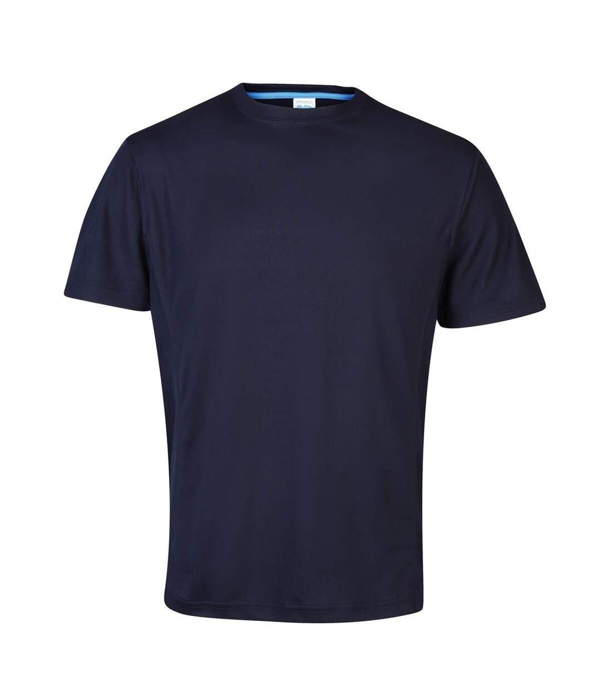 AWDis Cool Mens SuperCool Crew Sports Performance T-Shirt (French Navy) - UTRW2539