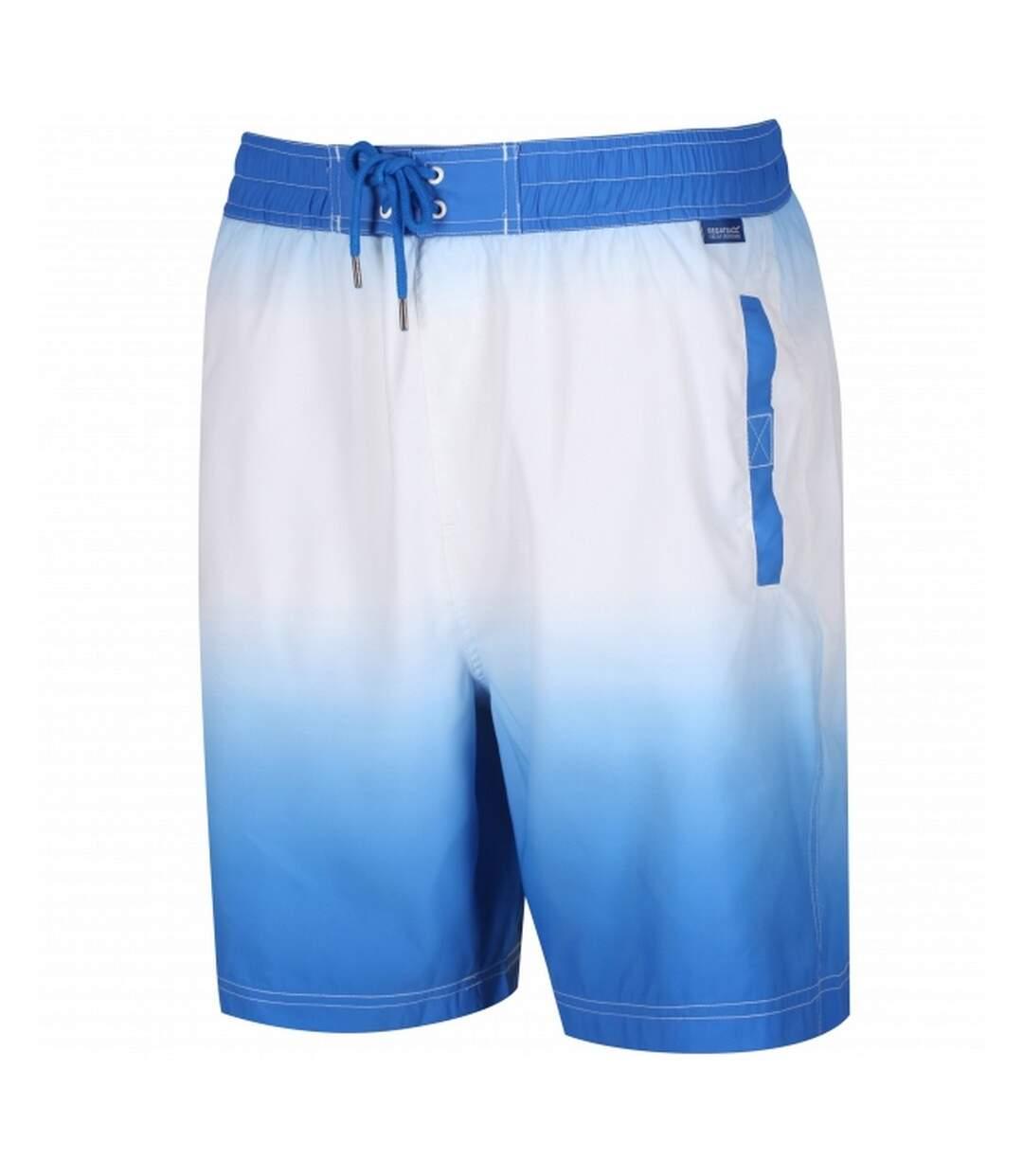Regatta Great Outdoors Mens Hadden Board Shorts (Oxford Blue/White) - UTRG2734
