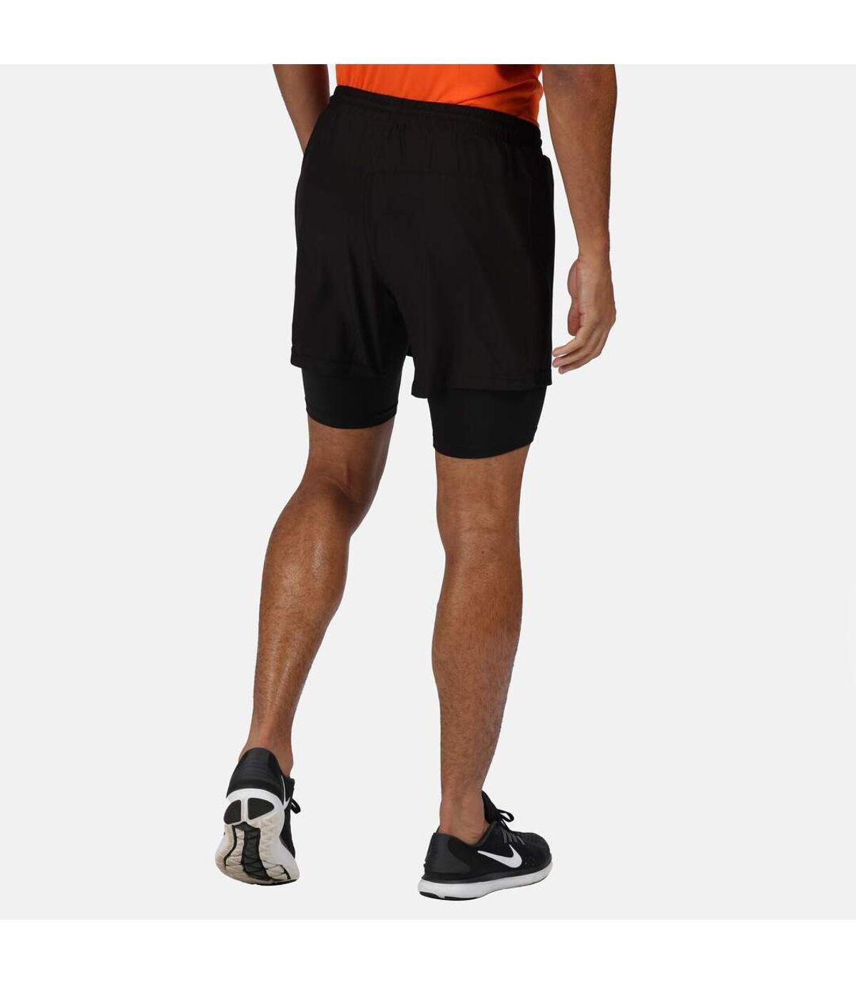 Regatta Mens Berlin Running Shorts (Black) - UTRG5404