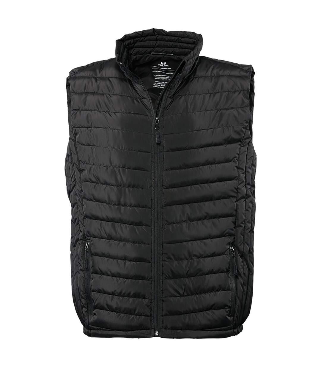 Tee Jays Mens Padded Zepelin Vest Jacket / Gilet (Black) - UTBC3336