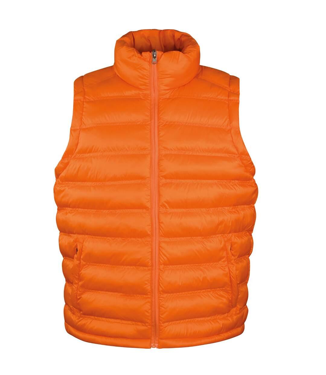 Result Mens Ice Bird Padded Bodywarmer / Gilet Jacket (Orange) - UTBC2726