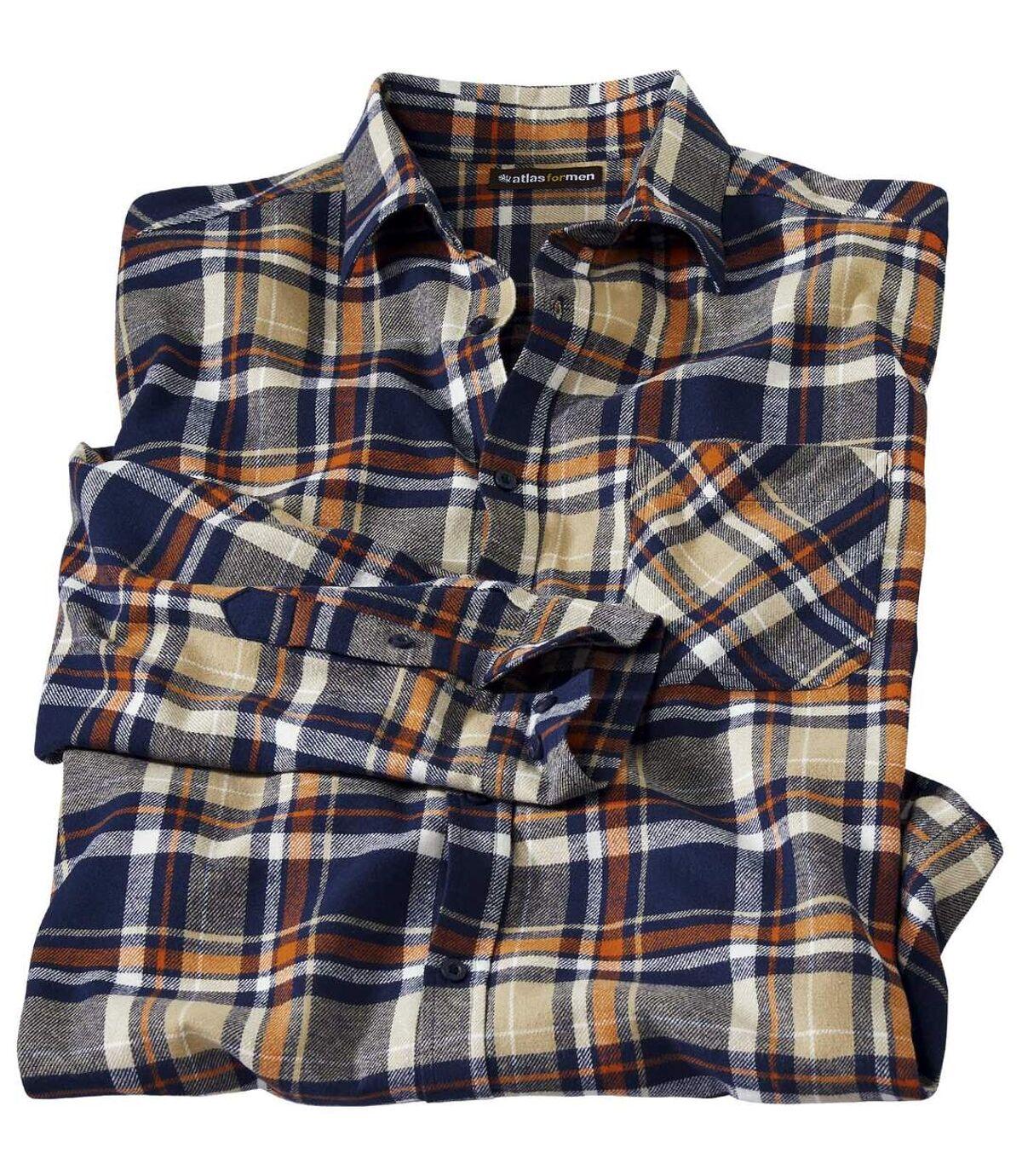 Geruit flanellen overhemd Atlas For Men