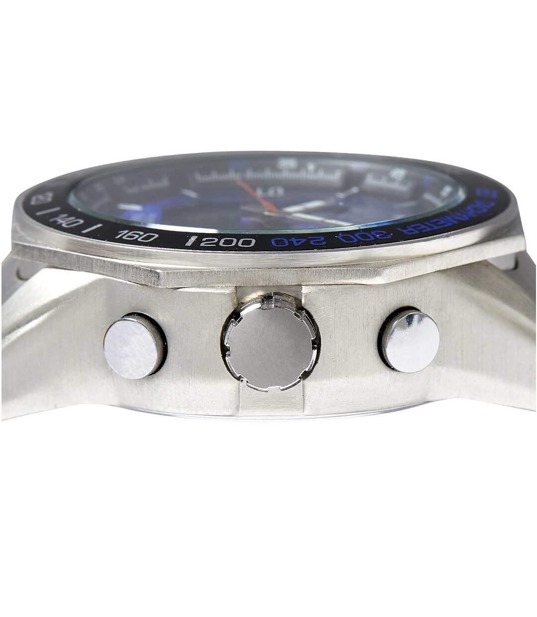 Sportief chrono horloge met dubbele tijdweergave
