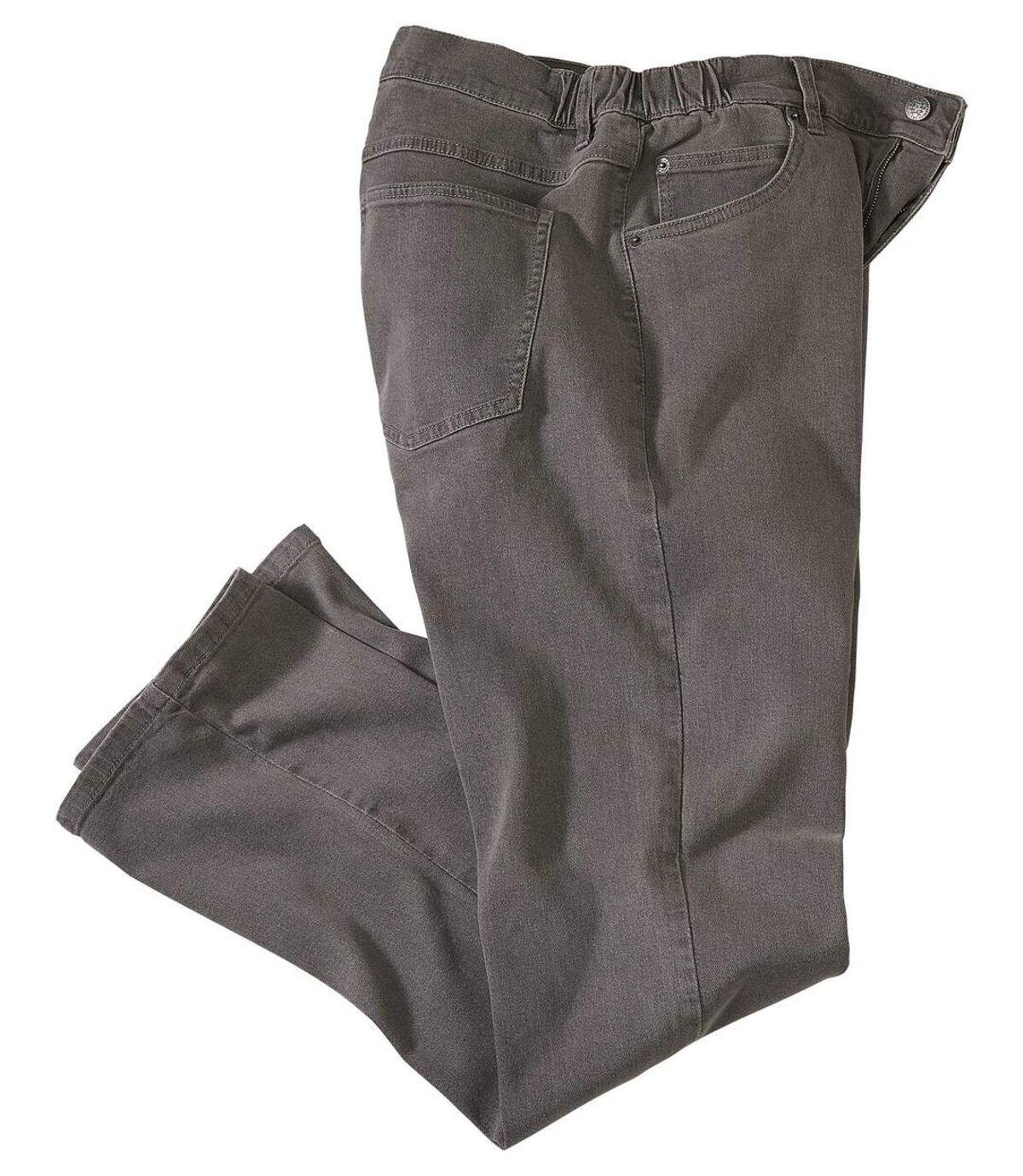 Strečové džínsy spolo-elastickým pásom Regular Atlas For Men