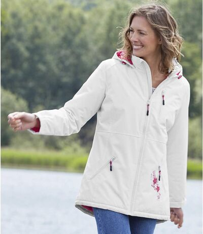 Women's Microtech Fleece-Lined Hooded Parka - Water-Repellent