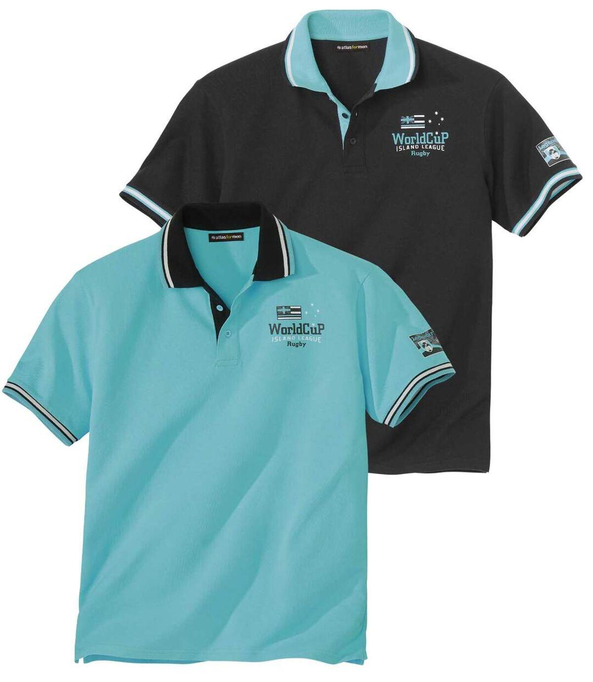 Zestaw 2 koszulek polo z dzianiny pika Island League Atlas For Men