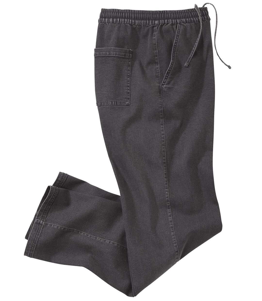 Wygodne elastyczne jeansy