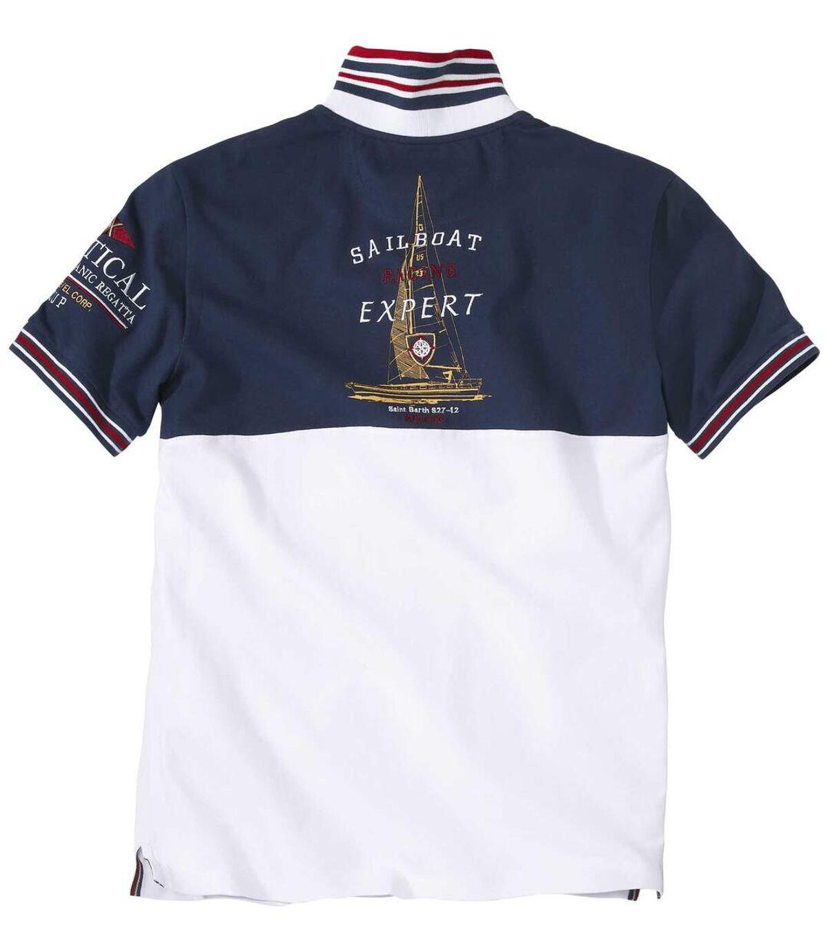 Polo tričko Atlantic Crossing zbavlněného piké Atlas For Men