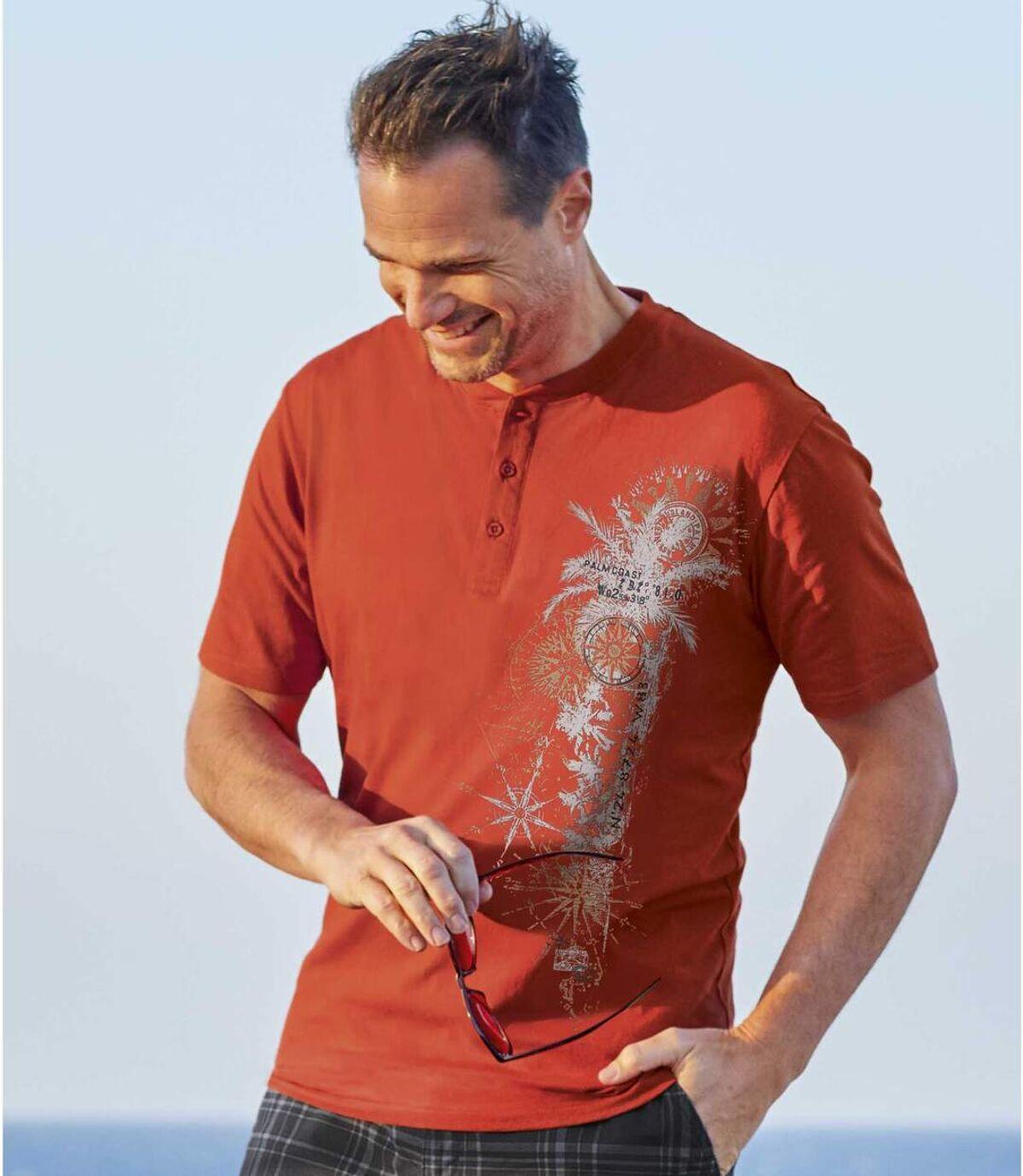 3darabos, Travel tunéziai nyakú pólóból álló szett Atlas For Men